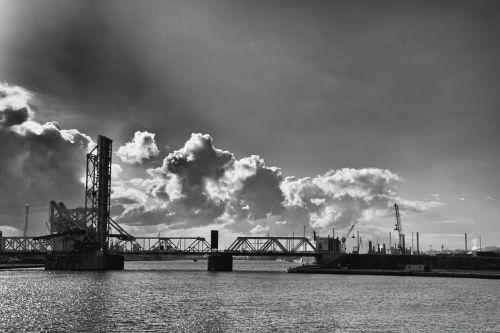 harbor antwerp bridge