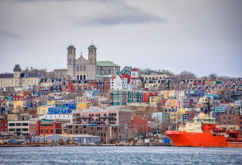 harbour downtown newfoundland