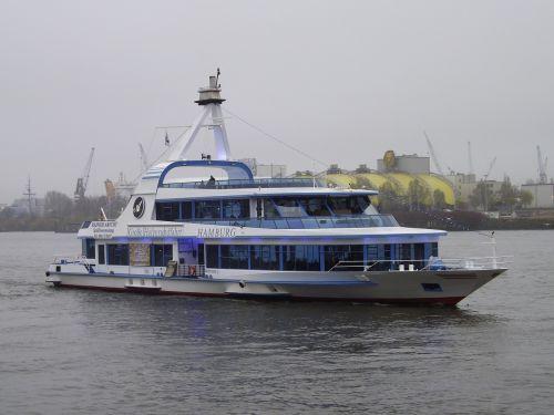 harbour cruise elbe passenger ship