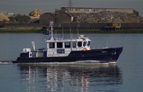 harbour master police boat