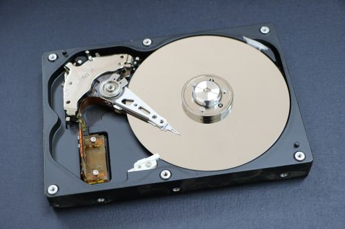hard disk a hard disk drive an auxiliary storage device
