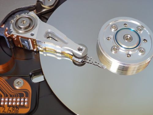 hard disk storage open hard drive