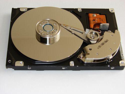 hard disk drive electronics storage