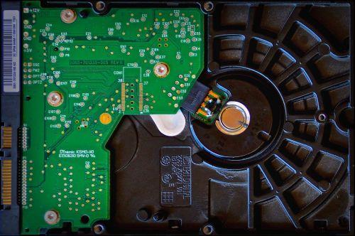 hard drive storage medium digital data