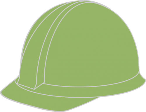 hard hat helmet green