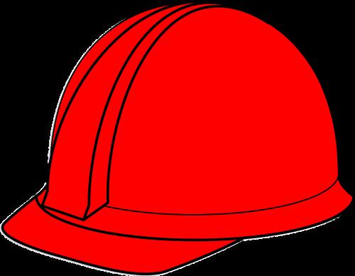 hard hat helmet red