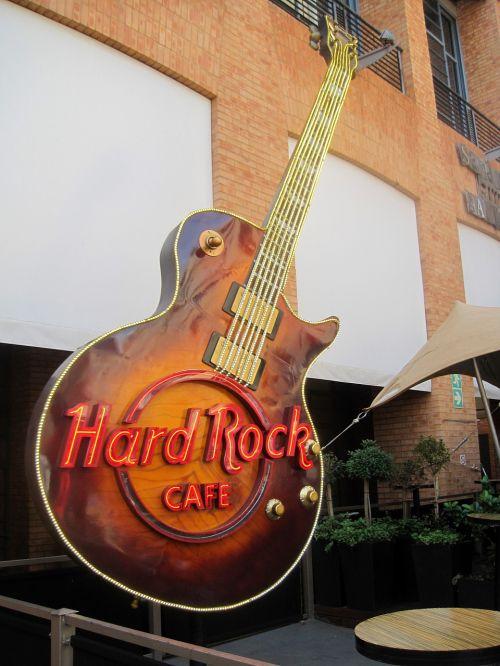 hard rock café sandton ornamental guitar