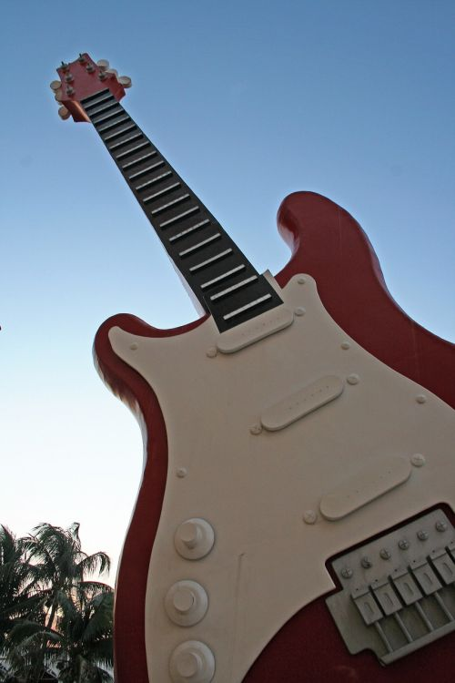 hard rock cancun guitar