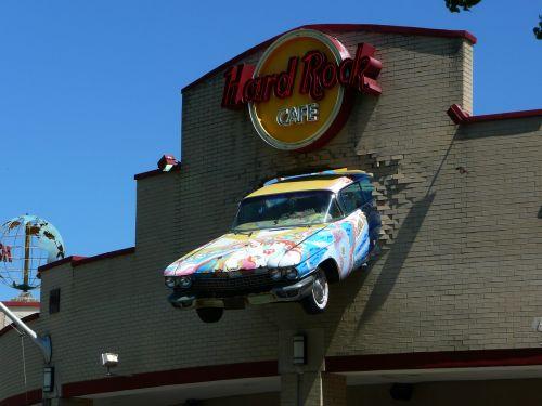 hardrock cafe facade oldsmobile