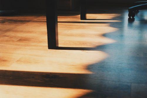 hardwood floors shadows