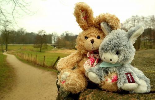 hare donkey stuffed animals