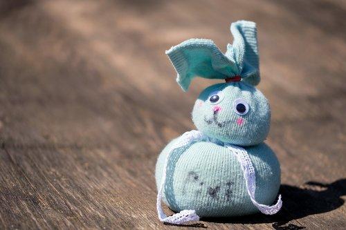 hare  doll  stuffed animal