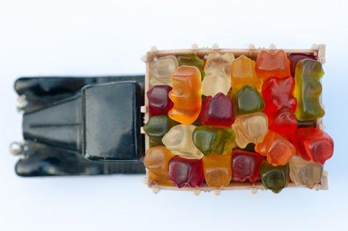 haribo  jelly  bear
