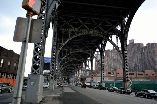 harlem bridge subway