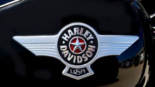 harley davidson badge motorcycle