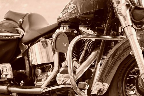 harley davidson  motorcycle  powerful engine