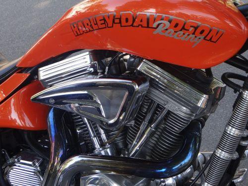 harley davidson motorcycle chrome