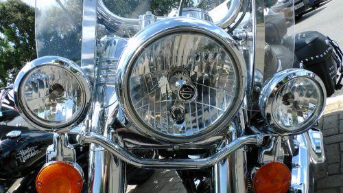 Harley Davidson Front Lights