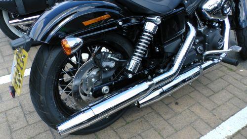 Harley Davidson Motorcycle Exhaust
