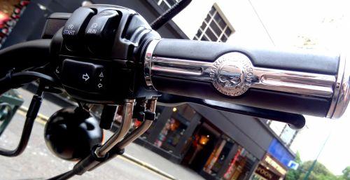 Harley Davidson Motorcycle Throttle