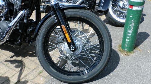 Harley Davidson Motorcycle Wheel