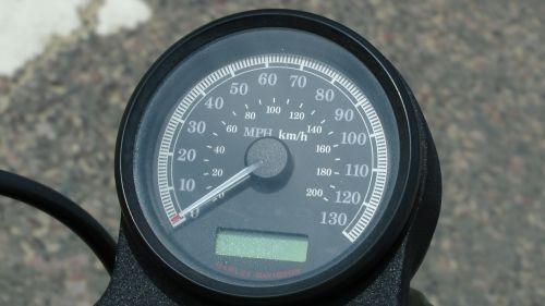 Harley Davidson Speedometer