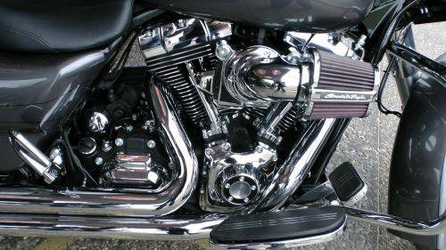 Harley Davidson Street Glide Engine