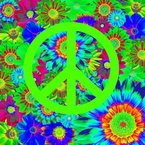 harmony peace retro