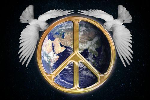 harmony world peace globe