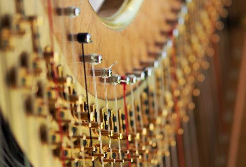 harp string tension