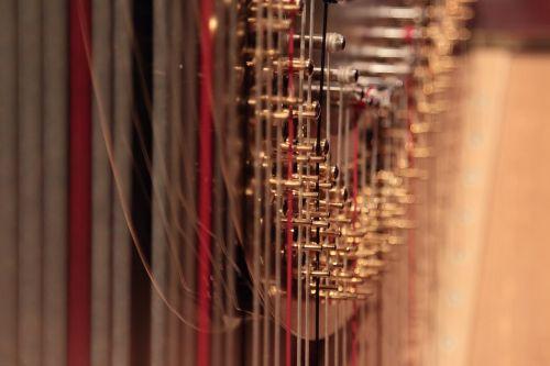 harp music strings