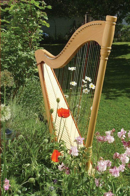 harp music musical instrument