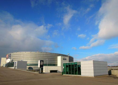 hartwall areena arena clouds
