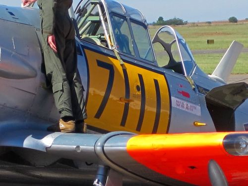 harvard airplane aircraft