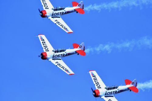 Harvard Formation Flying