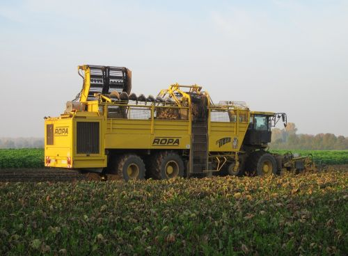 harvest machine field