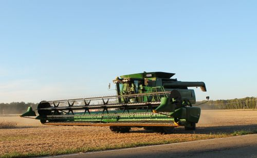 harvester harvest farming
