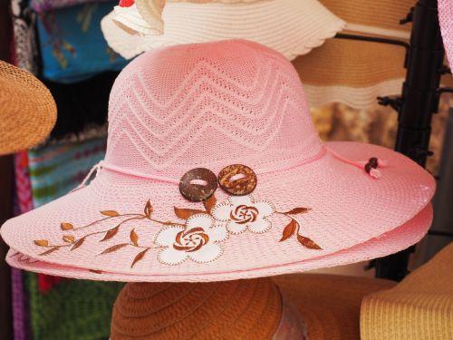 hat pink women's hat