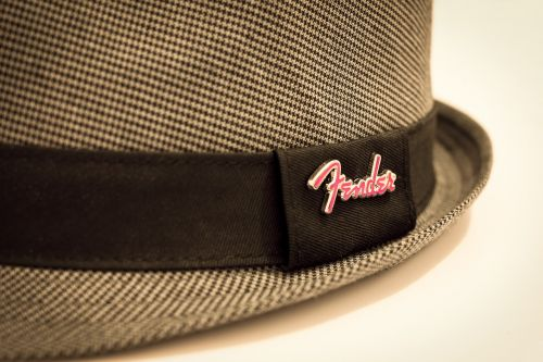 hat fedora fender