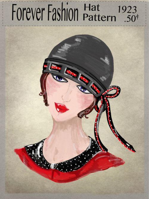 hat motoring vintage