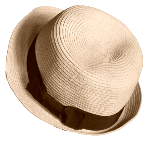 hat straw selection