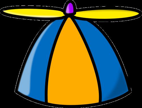 hat propeller toy