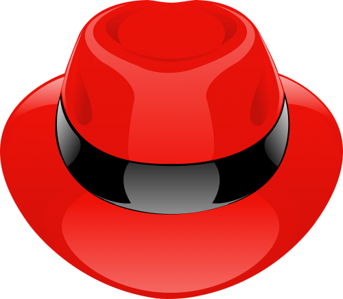 hat red fedora
