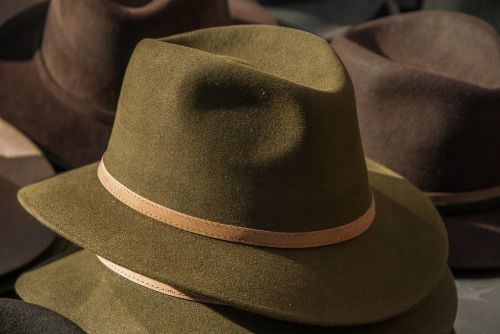 hat felt men's clothing