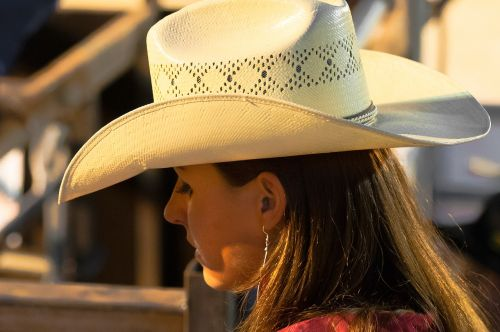 hat rodeo woman