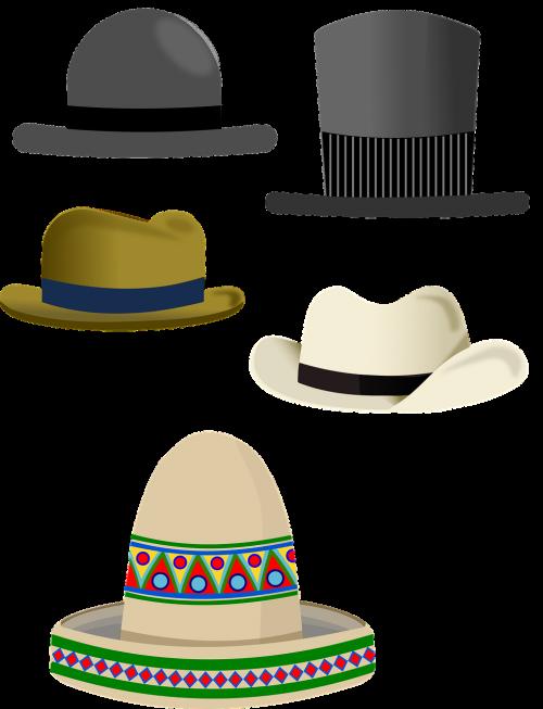 hat top hat coconut hat