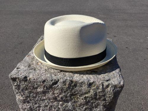 hat headdress stone