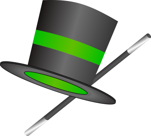 hat top wand