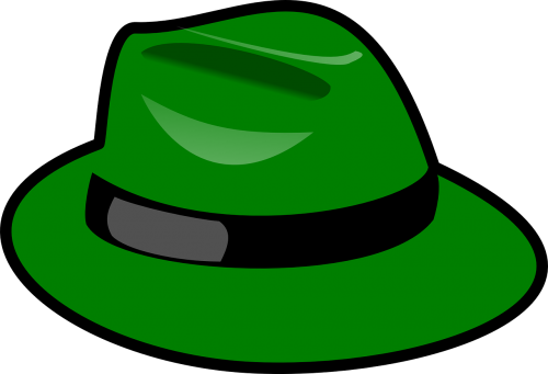 hat green fedora