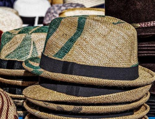 hat  straw hat  sun protection